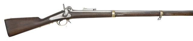 A Continental 12-Bore Percussion Military Musket