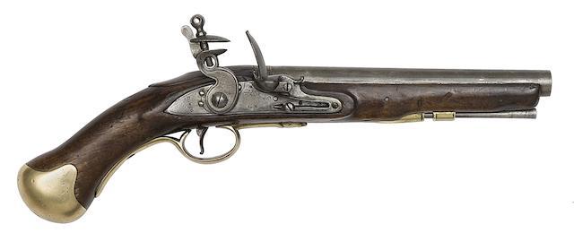 A 25-Bore Arsenal Shortened Flintlock Long Sea Service Pistol
