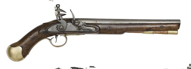 A 28-Bore Flintlock Long Sea Service Pistol