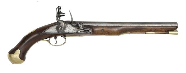 A 14-Bore Commercial Flintlock Volunteer Cavalry Pistol