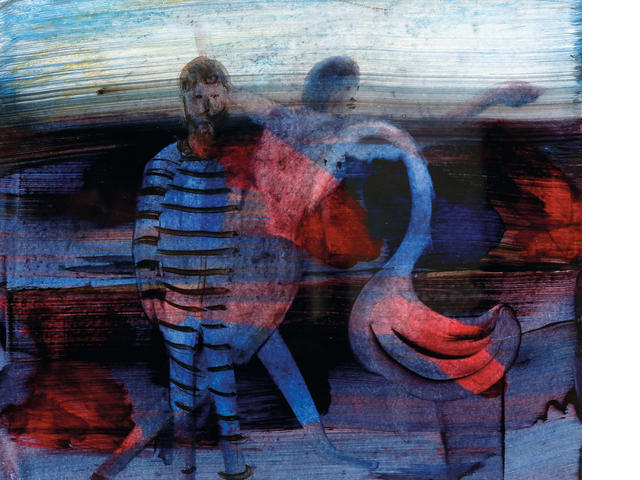 Sidney Nolan (Australian, 1917-1992) Convict, Mrs Fraser and Bird c.1959