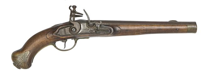 A Prussian 15-Bore 1787 Model Flintlock Cavalry Pistol