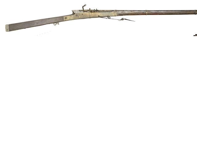 An Indian 28-Bore Matchlock Gun