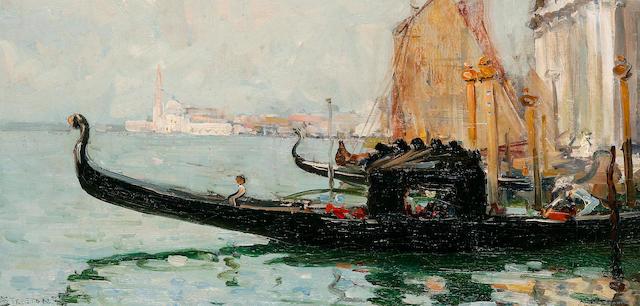 Arthur Streeton (1867-1943) Venice c.1908