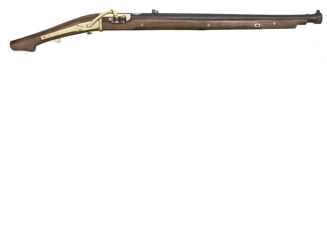 A Heavy 20-Bore Matchlock Carbine