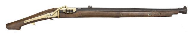 A Heavy 20-Bore Matchlock Carbine