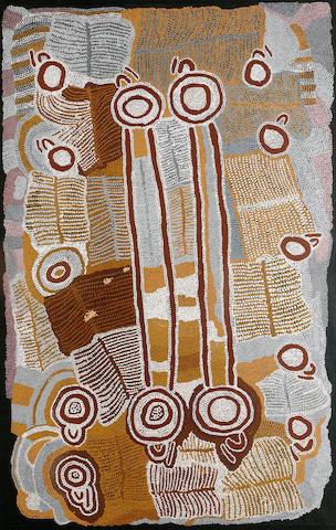 Maggie Napangardi Watson (circa 1921-2004) Womens' Dreaming at Janyinki