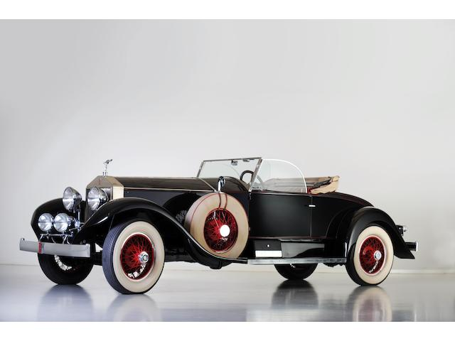 Formely from the Jerry J. Moore collection ,1928 Rolls-Royce 'Playboy Roadster'