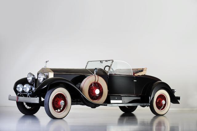 Anciennement dans la Jerry J Moore Collection,1928 Rolls-Royce Phantom I Playboy Roadster  Chassis no. S205RM
