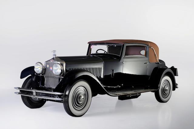 Participante au Concours d'élégance de Pebble Beach,1929 Minerva Type AK Faux Cabriolet  Chassis no. 58393