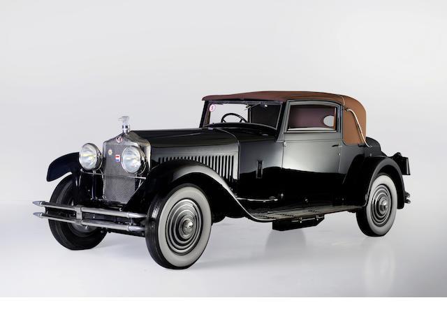 1928 Minerva AK 32 PK Faux Cabriolet Labourdette,
