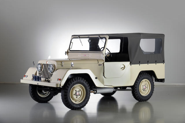 1957 Minerva C22 'Tout Terrain' 4x4  Chassis no. 10/002