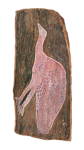 Attributed to Wattie Karruwara (circa 1910-1983) Untitled (Bustard)