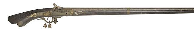 A Malaysian 11-Bore Matchlock Gun