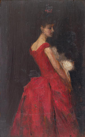 Tom Roberts (1856-1931) La Favorita c.1889