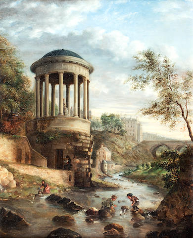 Alexander Richardson (British 19th century) St Bernard's Well, Edinburgh