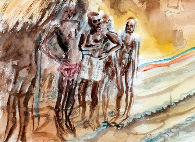 Leon Underwood (British, 1890-1975) 'Sierra Leone'