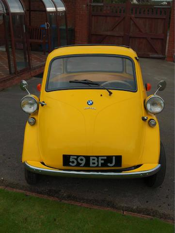 c.1960 BMW Isetta 300, Chassis no. 324578 Engine no. 324578
