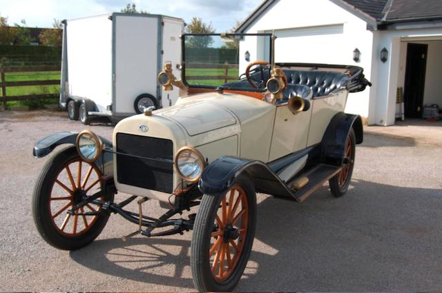 1915 Metz Model 25 Tourer, Chassis no. 35847 Engine no. 35847