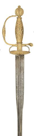 A French Ormolu-Hilted Small-Sword