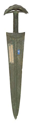 A Siberian Bronze Short Sword