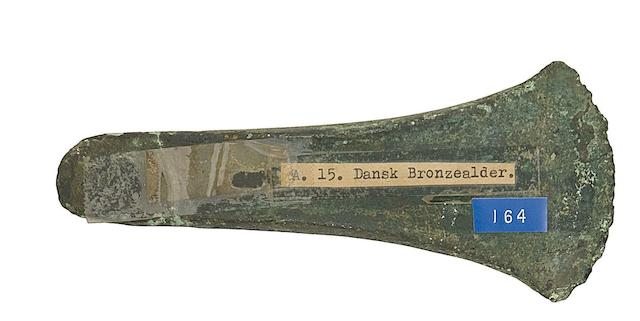 A Danish Bronze Axe-Head