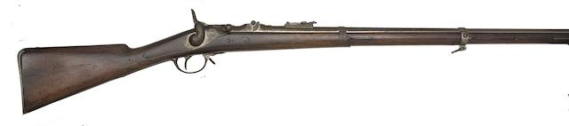 A Belgian 11MM Albini-Braendlin Breech-Loading Service Rifle
