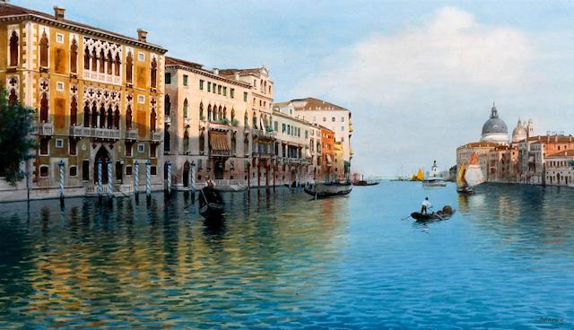 Eugenio Benvenuti (Italian, 1881-1959) 'Venice'
