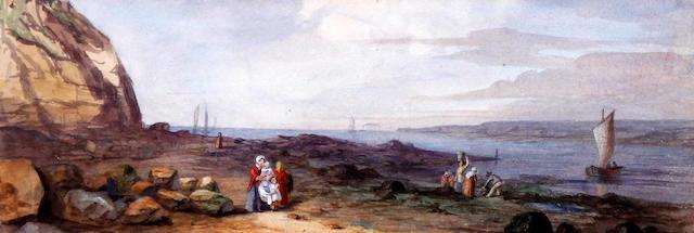 School of Peter De Wint, OWS (British, 1784-1849) Country landscape