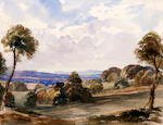 School of Peter De Wint, OWS (British, 1784-1849) Country landscape