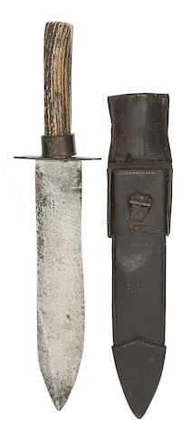 A Victorian Hunting Knife