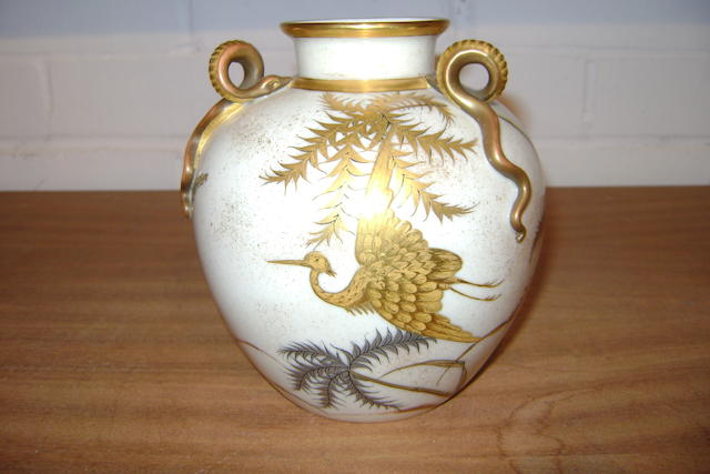 A Royal Worcester vase,