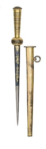 A Naval Officer's Dirk
