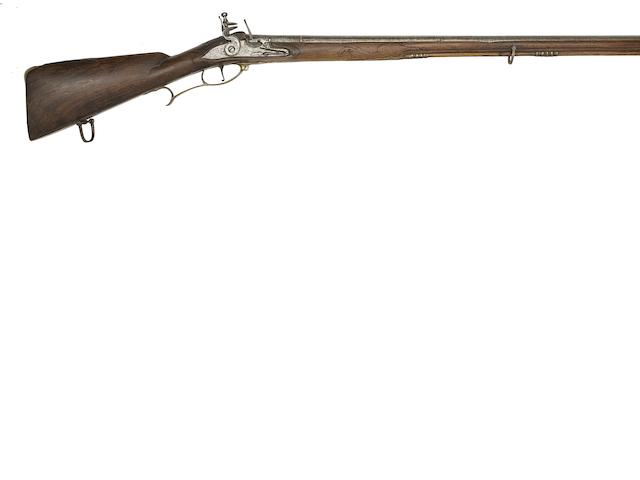 An Austrian 18-Bore Flintlock Sporting Rifle