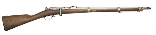 A French Chassepot 11MM 1866 Model Breech-Loading Needle-Fire Carbine