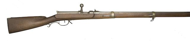 A Prussian 15MM 1841 Model Breech-Loading Needle-Fire Military Rifle