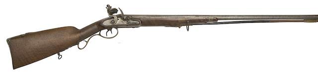 A Liège 22-Bore D.B. Flintlock Sporting Gun