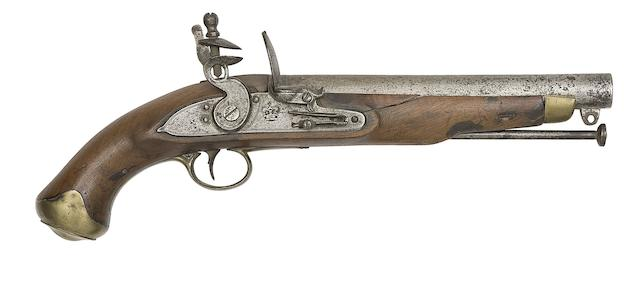 A 13-Bore Foreign Contract New Land Pattern Flintlock Service Pistol