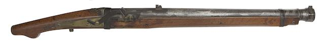 A Heavy 7-Bore Matchlock Musket