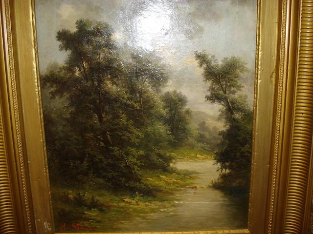 A. Stone  River Landscape,