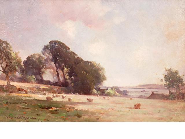 Robert Russell MacNee, RGI (British, circa 1866-1952) Pastoral