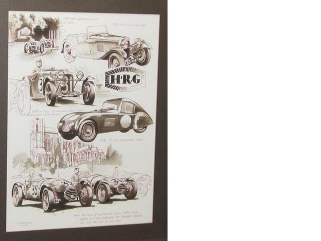 Tony Gardiner, 'HRG at Le Mans',