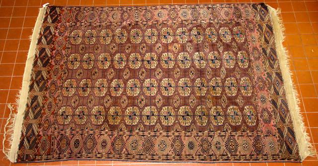 A Tekke rug  183 x 277cm