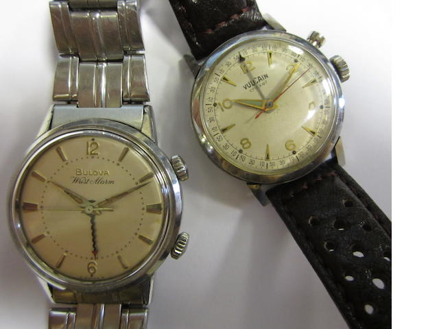 A lot of 2 watches vulcain and Bulova