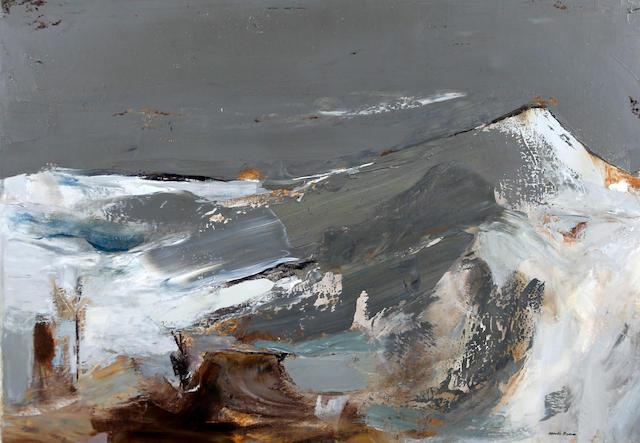 Mardi Barrie, RSW (British, 1931-2004) 'Winter Shadow' 1967