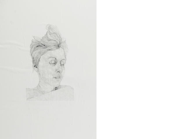 Four x pencil drawings - Kathryn Lloyd 'In the Woods'