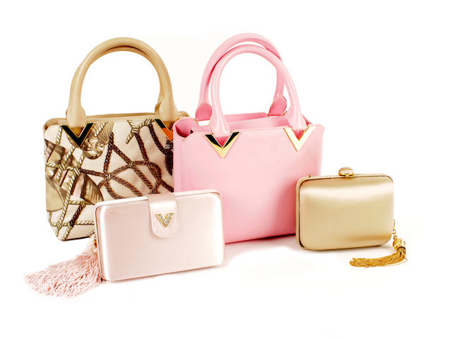 Four Valentino bags