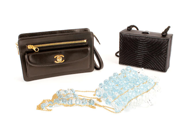 Three Chanel evening bags