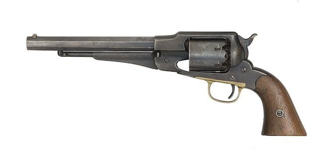 A .44 Remington 1861 New Model Army Percussion Revolver