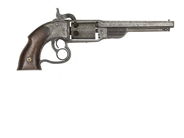 A Savage Firearms Co. Navy Model Six-Shot Percussion Revolver